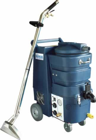 Machine used by carpet cleaners